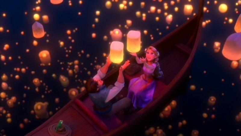 ラプンツェルウェディング 空飛ぶ灯り ランプシェード ディズニー