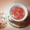 桜色のふかひれスープの画像