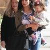2015年2月ジェナ・ディーワンと娘のエヴァリーちゃん、ジェナの母ナンシーの画像