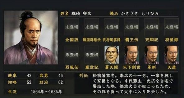 蠣崎守広 (かきざき もりひろ)...