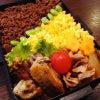 ◆鶏手羽中のガーリックブラックペッパー焼き&そぼろご飯弁当 3/12の画像