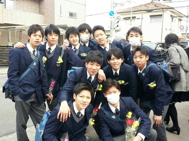 3/12旭東中学卒業式おめでとうご...