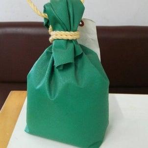 カリヤテントの【これ、な~んだ①】 ~きんちゃく型砂袋~の画像