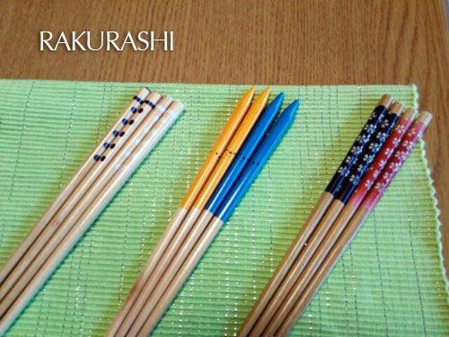 お箸の色は鮮やか色のほうがテンション上がるので色々用意していましたが、 子供達にはそんなの関係なく、とにかく、お腹が空いているようで。笑