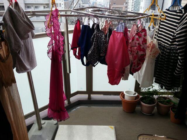 女装子_洗濯。 | 下着女装子 紀子のブログ