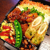 ◆鶏唐揚げの甘酢だれ弁当 3/18の画像
