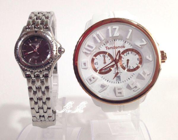 文字盤大きい腕時計レディース