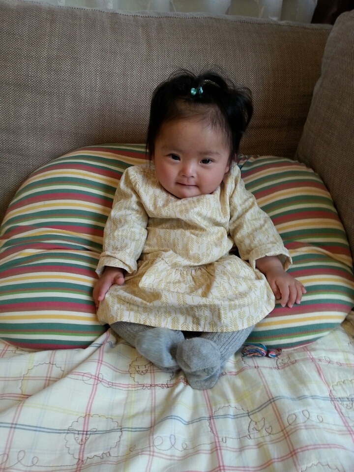我が家にダウン症の子供が産まれて9ヵ月。 ダウン症と判明してからもう普通の生活なんて出来ないんだなぁ・・と思ってたのが嘘みたいに平凡な毎日♪