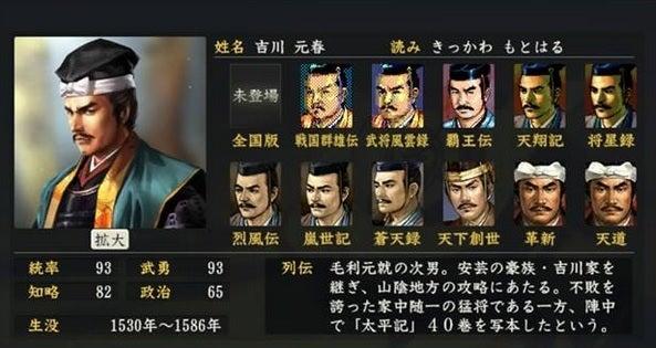 「吉川元春」の画像検索結果