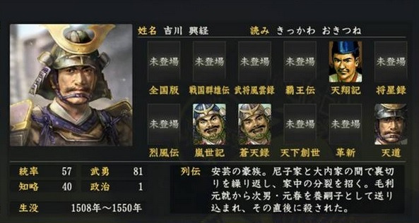 吉川経世とは - goo Wikipedia (ウィキペディア)