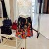 花柄スカート♪ファッションセレクトショップラレーヌ奈良♪の画像