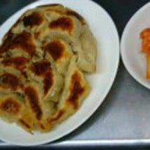 夕方ご飯☆餃子