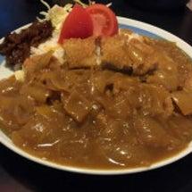 夕方ご飯☆カツカレー