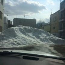 雪解け近し!
