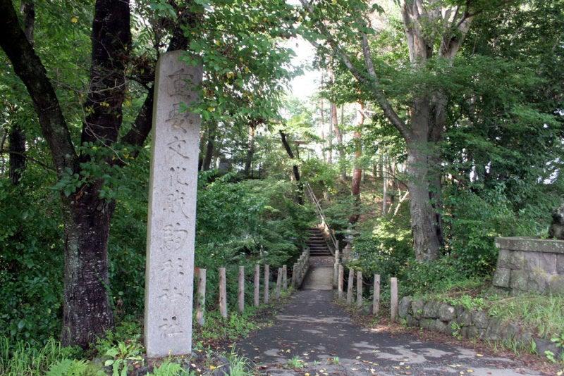 駒形城/①駒形神社参道