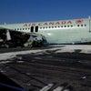 ▼唸声カナダ写真/またも、エアバスA320型機で事故、着陸に失敗、23名軽傷の画像