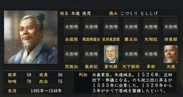 木造俊茂 (こづくり とししげ)...
