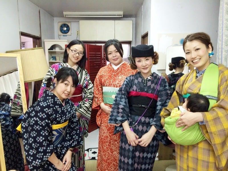 着付け教室ayaaya'sのグループレッスン画像