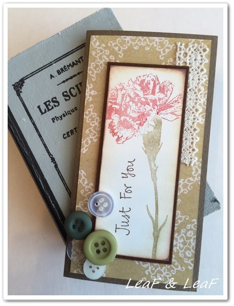 手作り母の日のカード