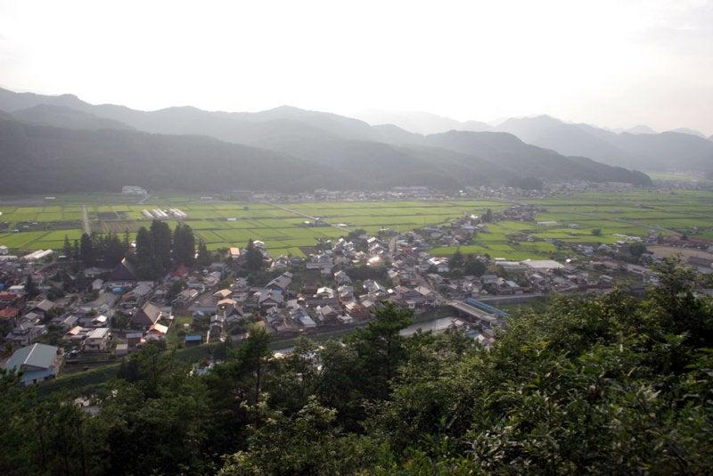 長窪城/⑨主郭からの眺め