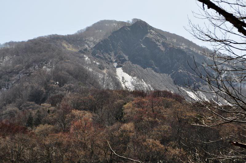2015年4月の白神山地「十二湖」の崩山