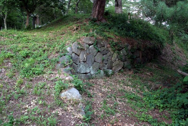 矢沢城/④石垣