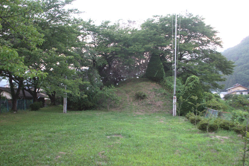 岡城/④入口から奥