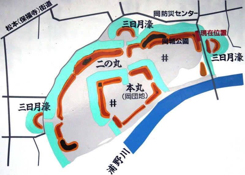 岡城/①図