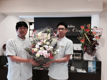 20周年記念お祝い花