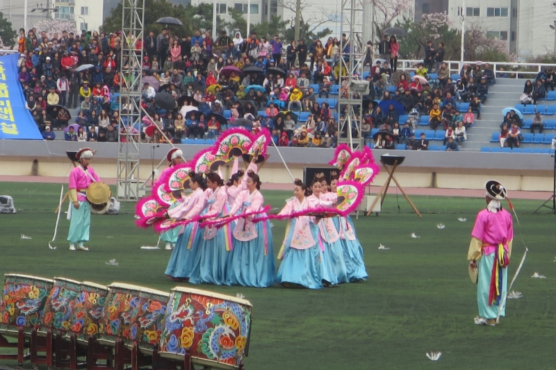 鎮海桜祭10