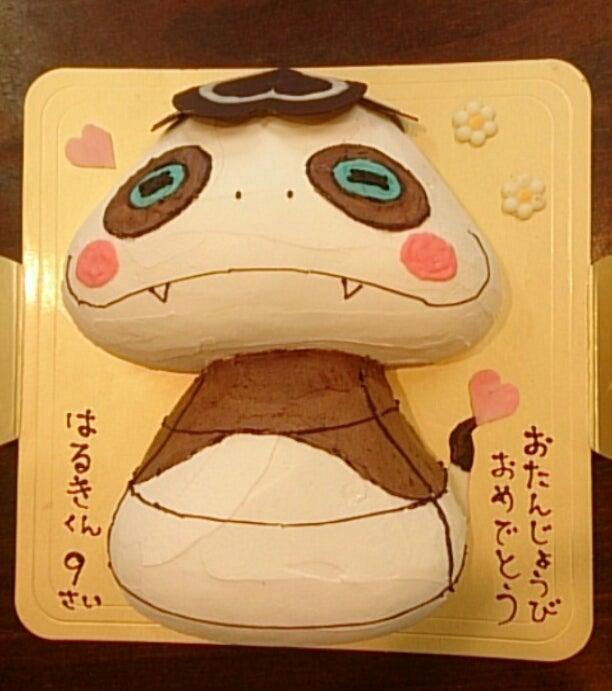 ツチノコパンダ ケーキ 手作りケーキラルジュの気分写メ