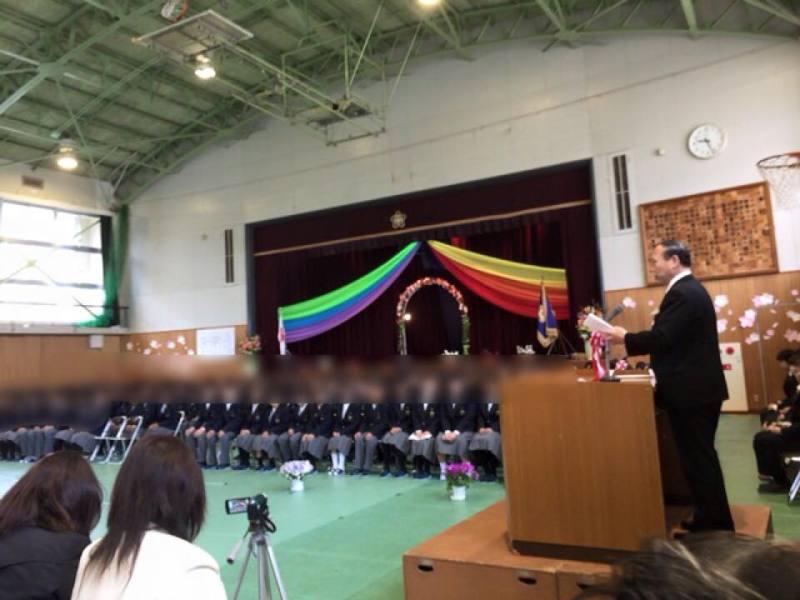 門真市立第二中学校の入学式 | ...