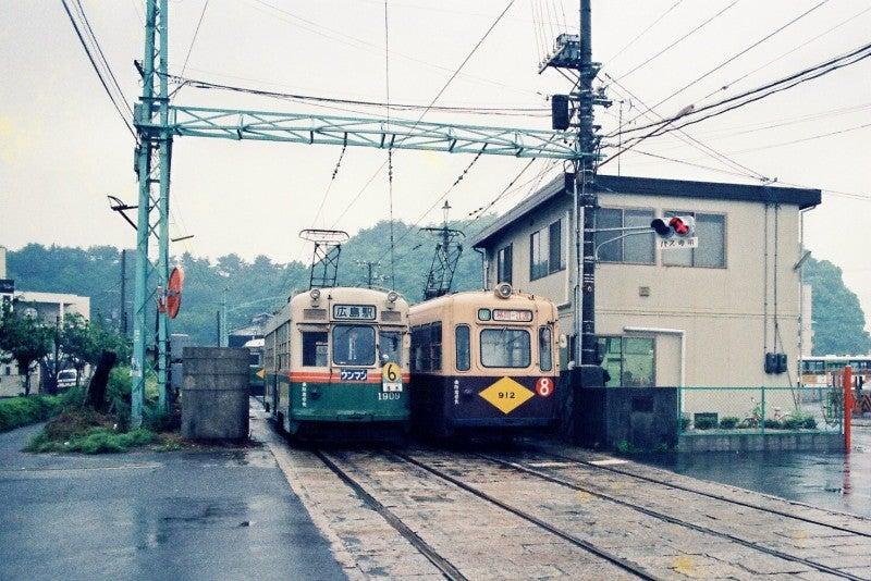 広島電鉄で京都・大阪・神戸市電...