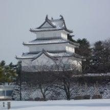 越後 新発田城 ~雪…
