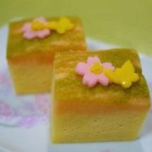 春の和菓子、浮島を試…