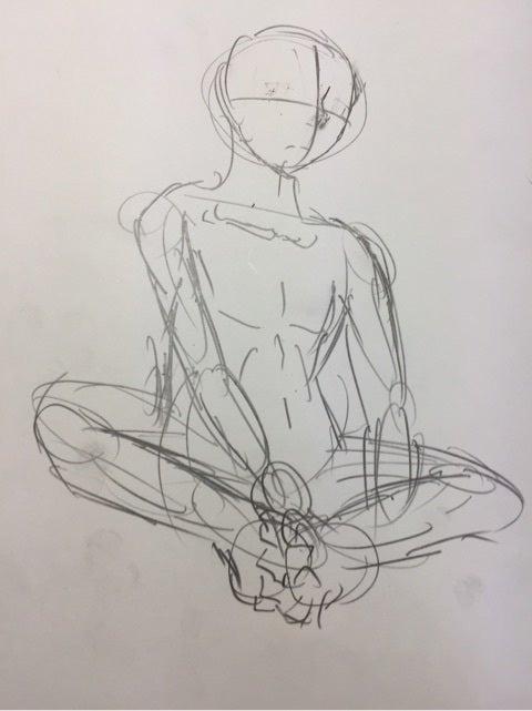 あぐらをかくってどうやって描けばいいの Osakis Blog