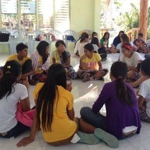 高校自治会のリーダー研修で62人を5グループ分けにの画像