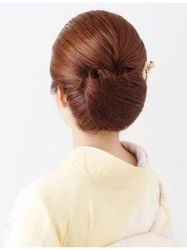 黒留袖のヘアスタイル① ~アップスタイル編~