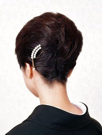 黒留袖のヘアスタイル③ ~髪飾り編~