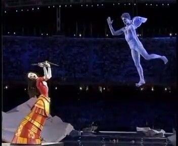 2004年 アテネオリンピック開会...
