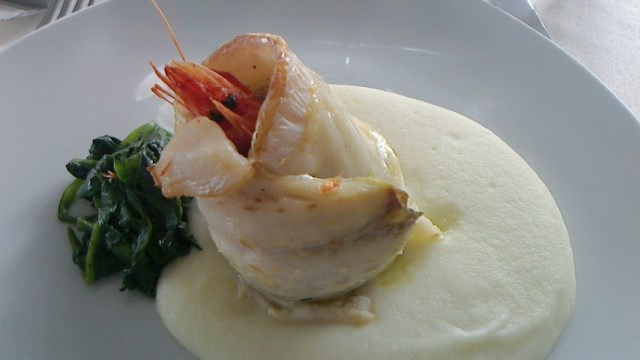 Granduca(野菜と魚のシチリアワイン和え)