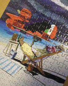 塗り 方 のり ジグソーパズル