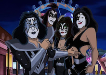 Scooby Doo! and Kiss'