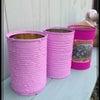 ザラザラリメ缶と多肉ちゃんの画像