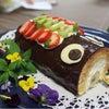 こいのぼりのロールケーキの画像