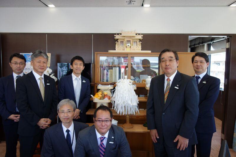 JTB九州の古田社長と役員方