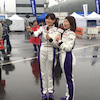 4/26放送、スーパーGTプラスの狩野恵里アナと岩崎名美さんの、レースクイーンレポをチェック!の画像