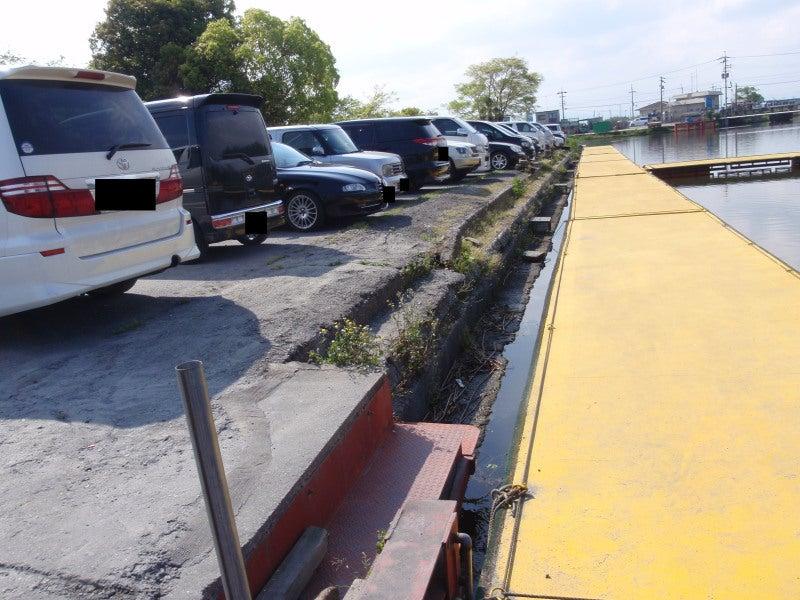 桟橋前駐車スペース