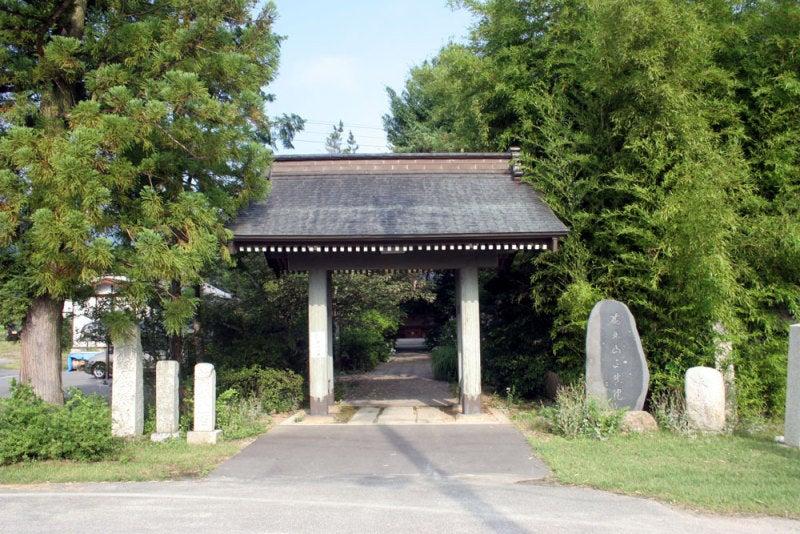 古厩城①/正真院山門