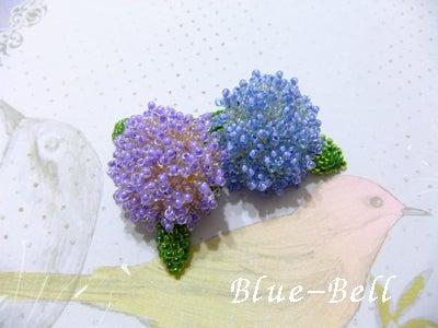 紫陽花ブローチ